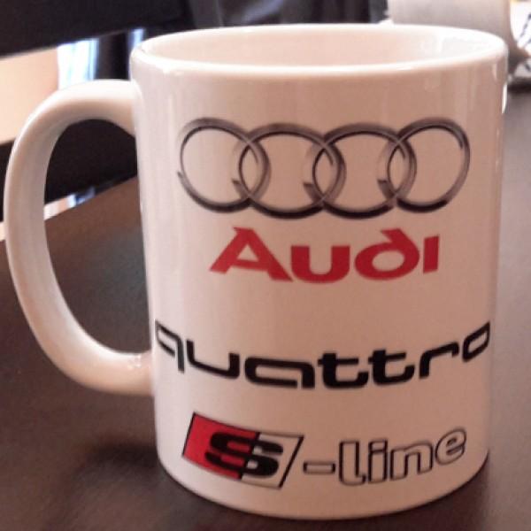 """Чаша """"Audi Quattro S-line"""""""
