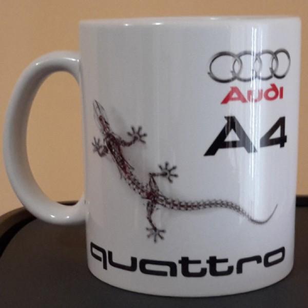 """Чаша """"Audi A4 Quattro"""""""